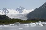 Grewink Glacier in Kachemak Bay State Park, Alaska