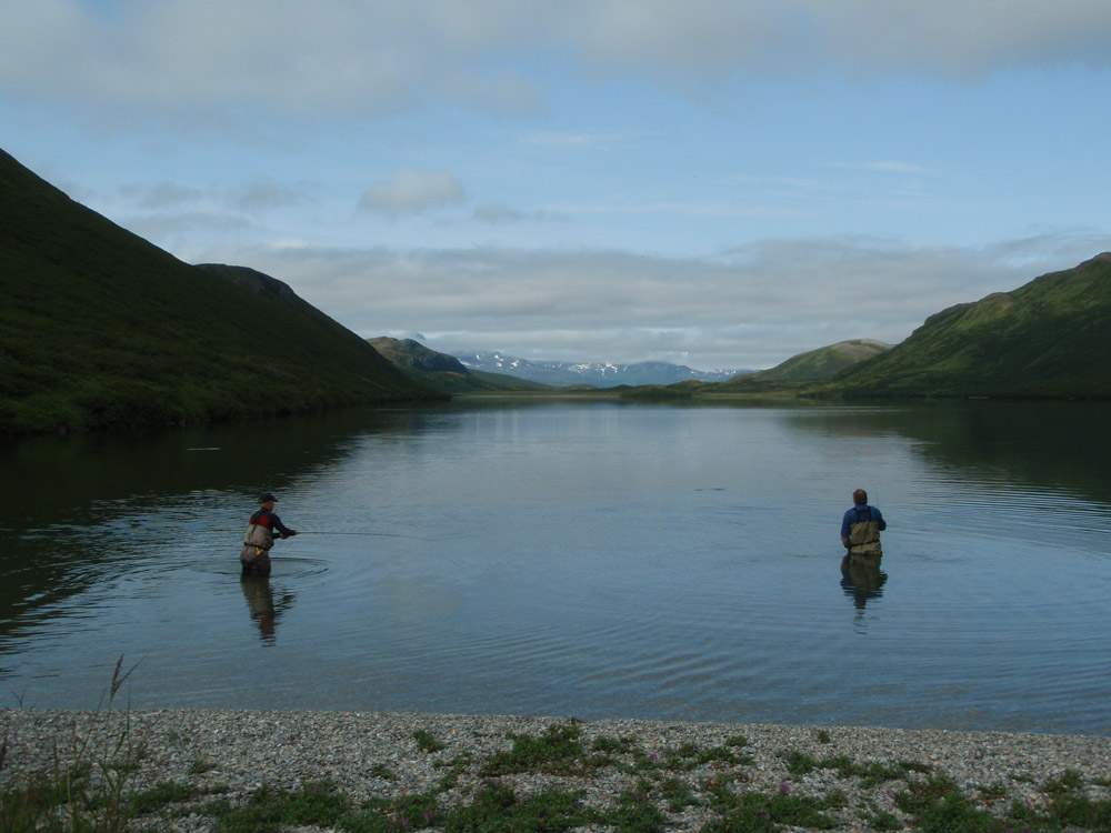 Dream guided and self guided fly in fishing trips via for Fly fishing alaska
